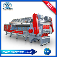 Large Diameter PVC, HDPE, Corrugated Pipe Horizontal Shredder Machine
