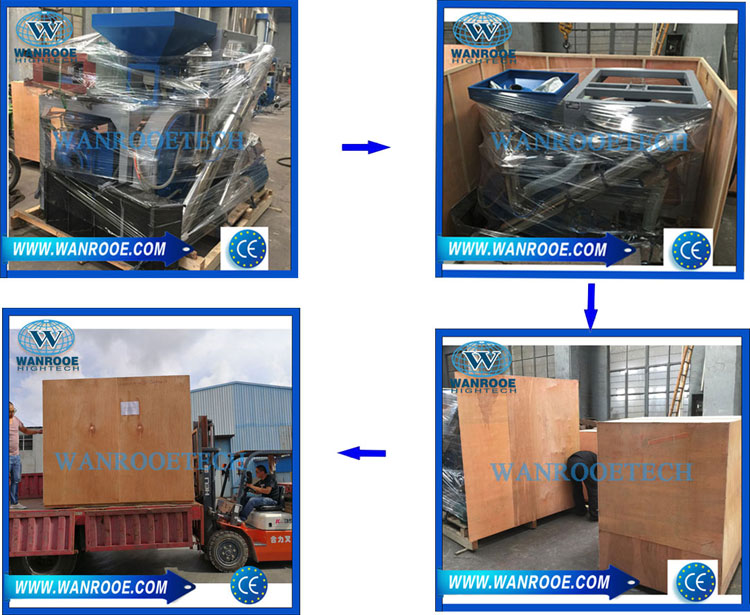 Rubber pulverizer mill machine packing