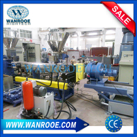 WPC (Wood Plastic) Pelletizing Granulating Machine