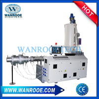PP PE PPR ABS Single Screw Extruder