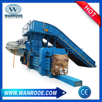 Soft Plastic Baler Plastic Film Fiber Baling Press Machine