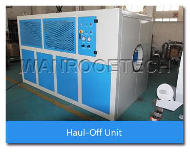 haul-off unit